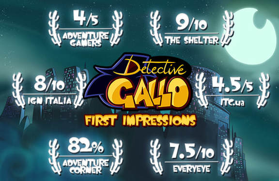 Detective Gallo first impressions